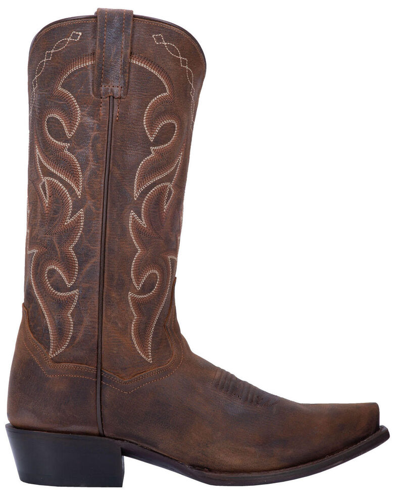 Dan Post Men's Mignon Snip Toe Western Boots, Bay Apache, hi-res