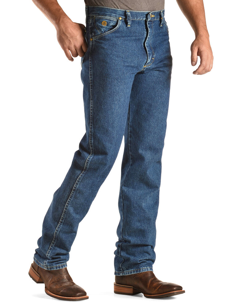 7b0bbe27 Zoomed Image George Strait by Wrangler Men's Cowboy Cut Original Fit Jeans  , Denim, hi-res