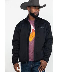 Ariat Men's Determination Full Zip Sweater Jacket , Black, hi-res
