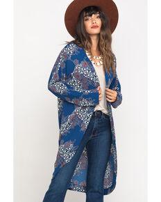 Cotton & Rye Outfitters Women's Multi-Color Kimono , Multi, hi-res
