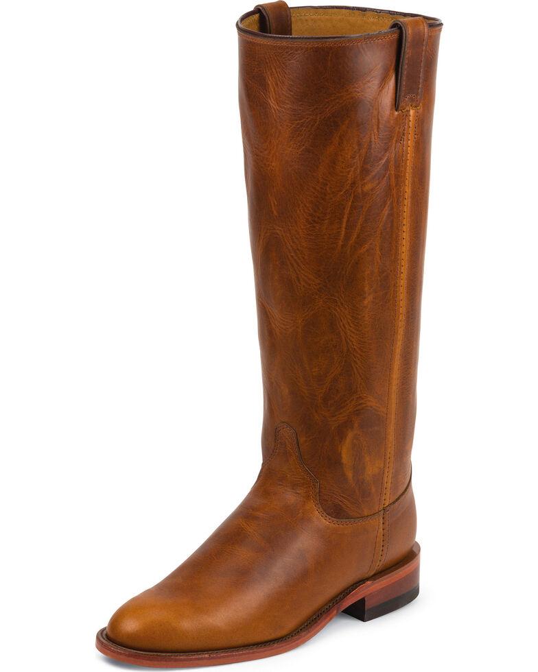 Chippewa Women's Renegade Original Roper Boots - Round Toe, Tan, hi-res