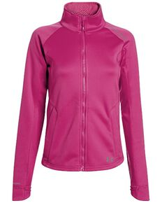 Under Armour Women's UA ColdGear Infrared Softershell Jacket, Pink, hi-res