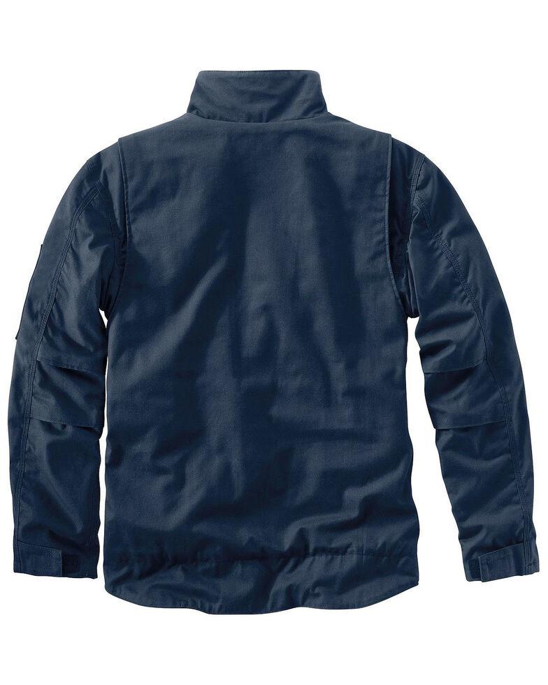 Carhartt Men's Flame-Resistant Full Swing Quick Duck Jacket - Big & Tall , Navy, hi-res