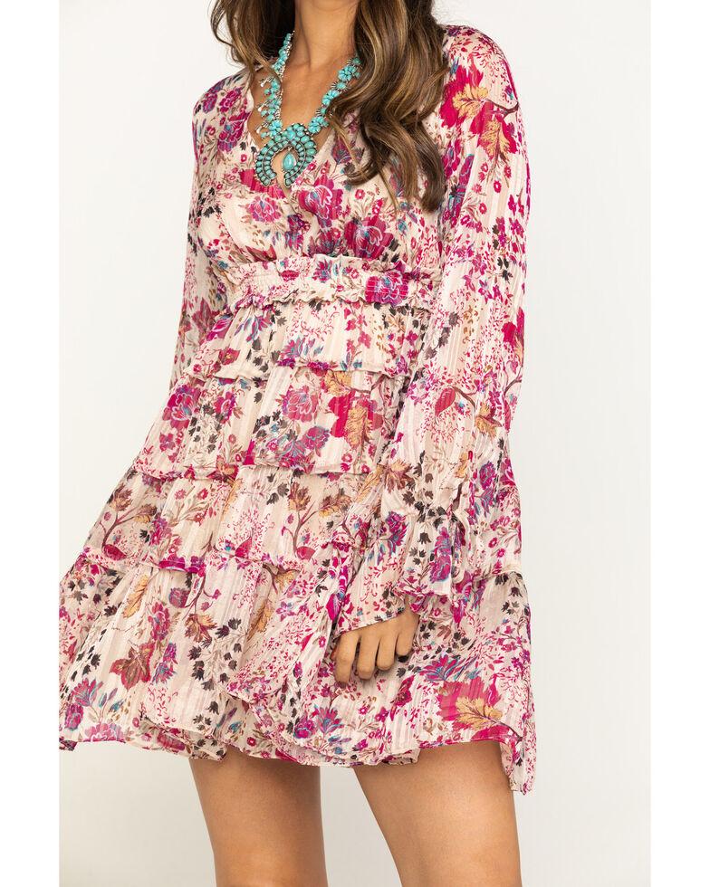 Free People Women's Closer To Heart Mini Dress, Ivory, hi-res