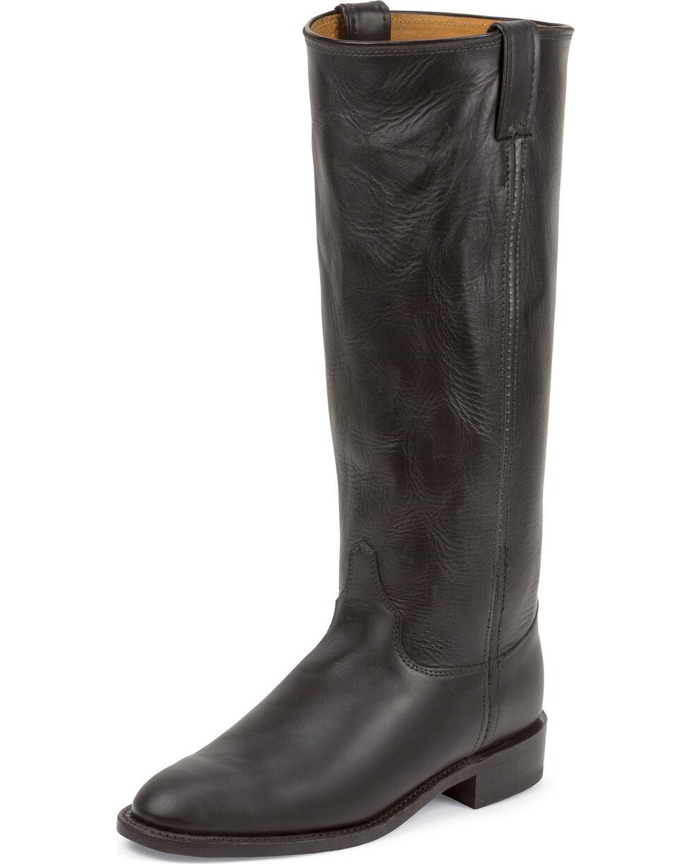"""Chippewa Women's 15"""" Original Roper Boots, Black, hi-res"""