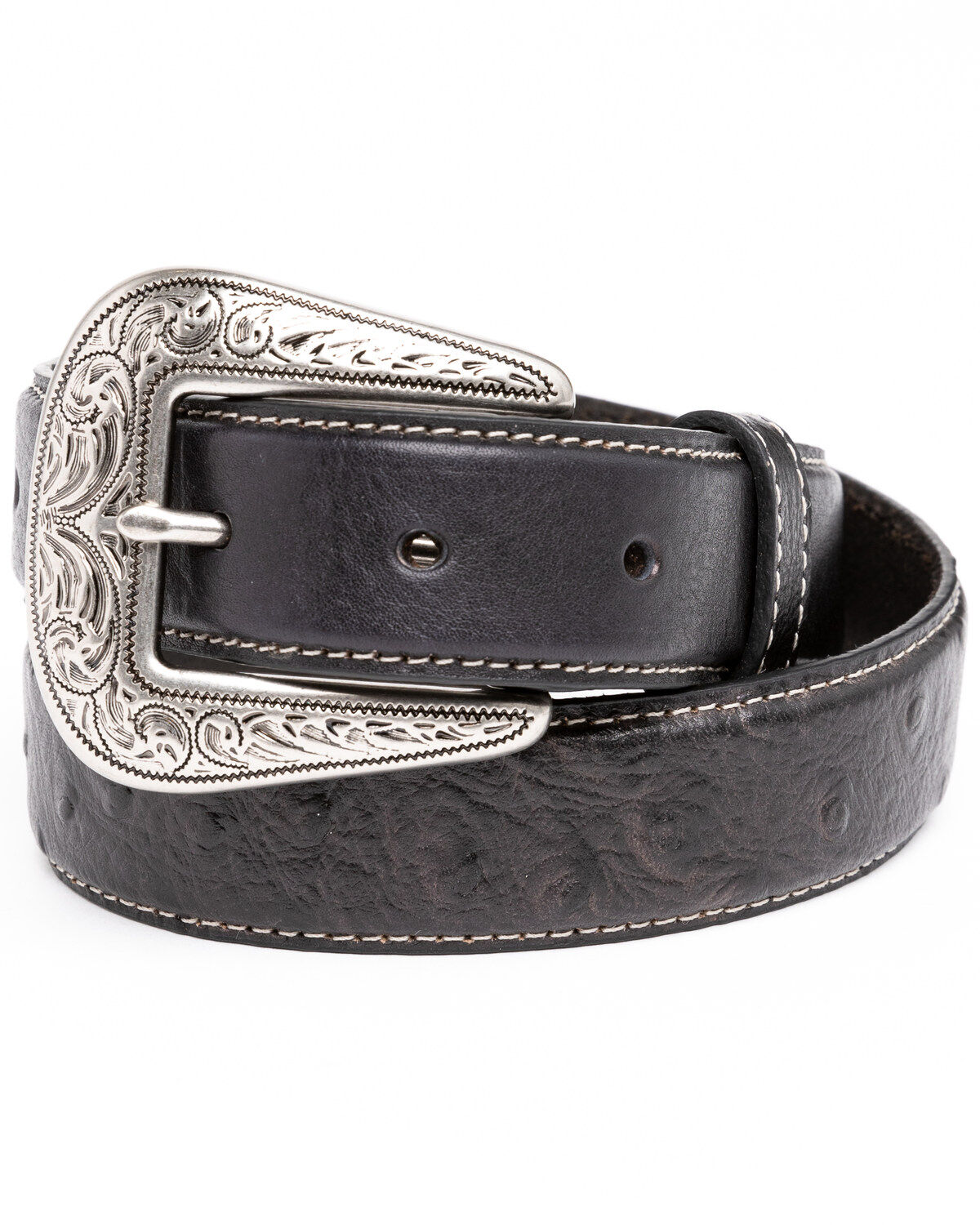 KIDS  GENUINE LEATHER BELT with NAME HORSE HEAD  /&  HORSE SHOE