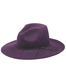 Peter Grimm Zima Flat Brim Hat, Purple, hi-res
