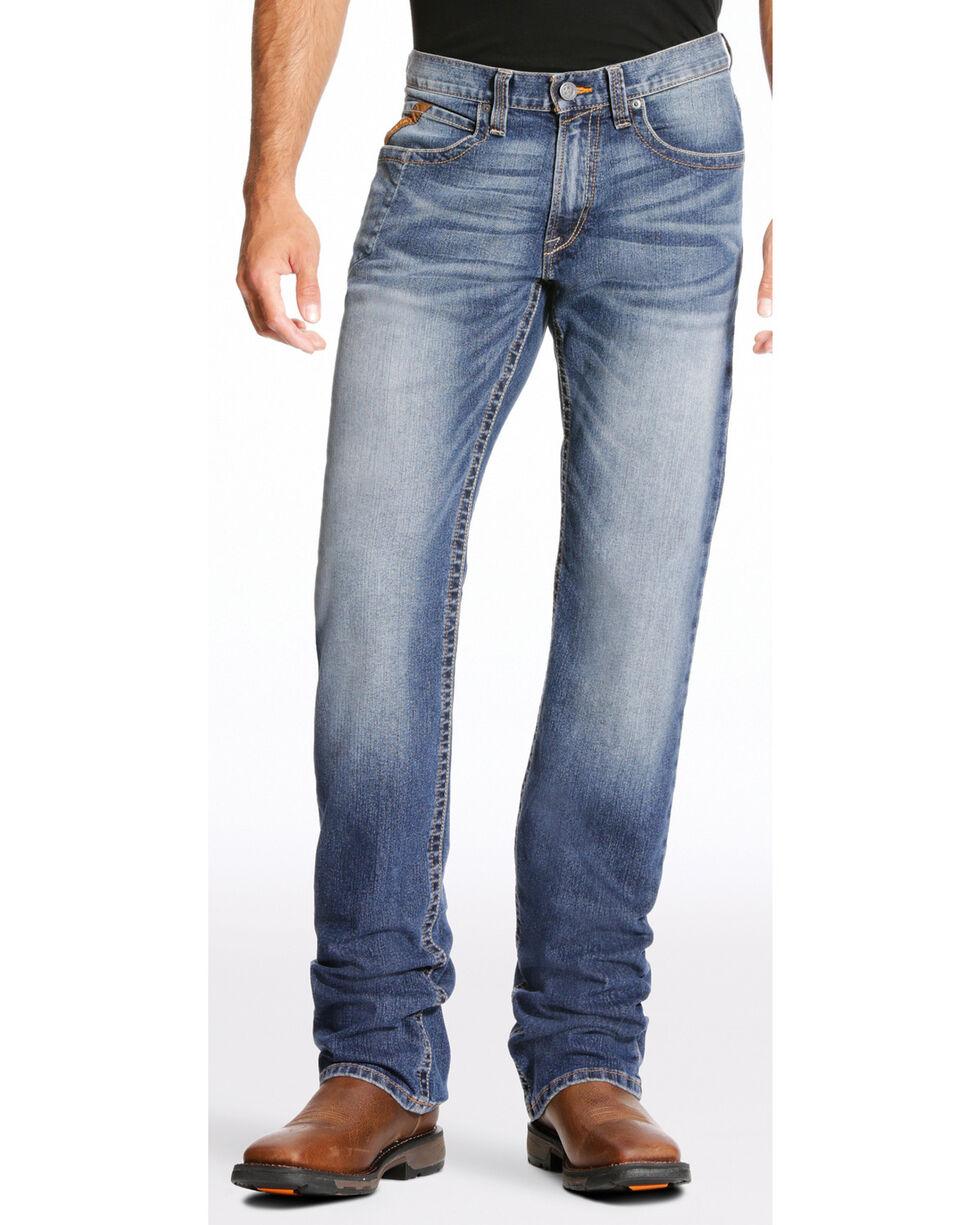 Ariat Men's Rebar M4 Edge Jeans - Boot Cut , Indigo, hi-res