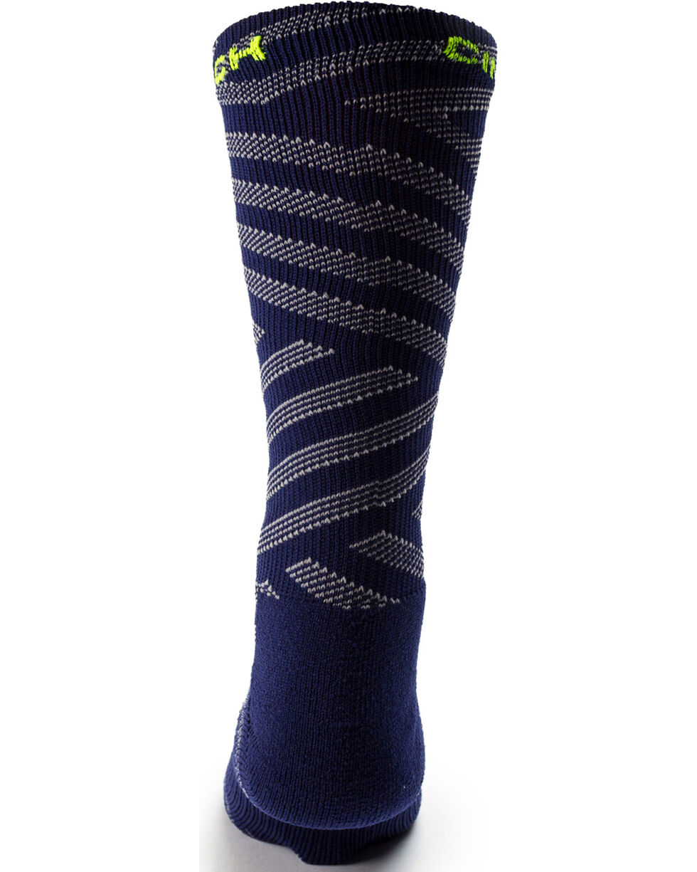 Cinch Men's Performance Crew Socks, Multi, hi-res