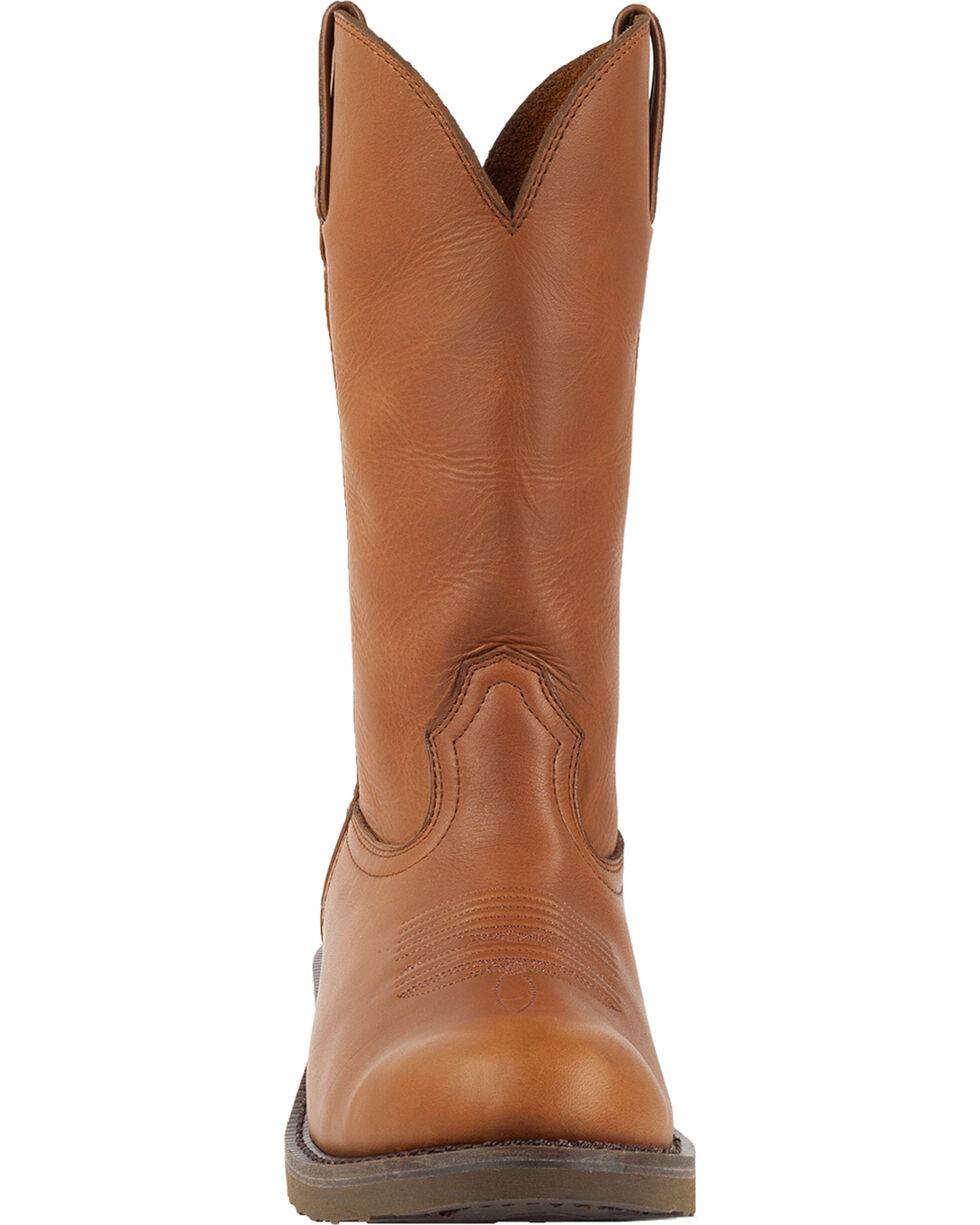 Durango Men's SPR Western Work Boots, Tan, hi-res