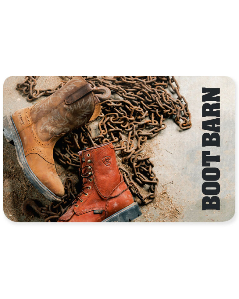 Boot Barn® Boots & Chains Gift Card, No Color, hi-res