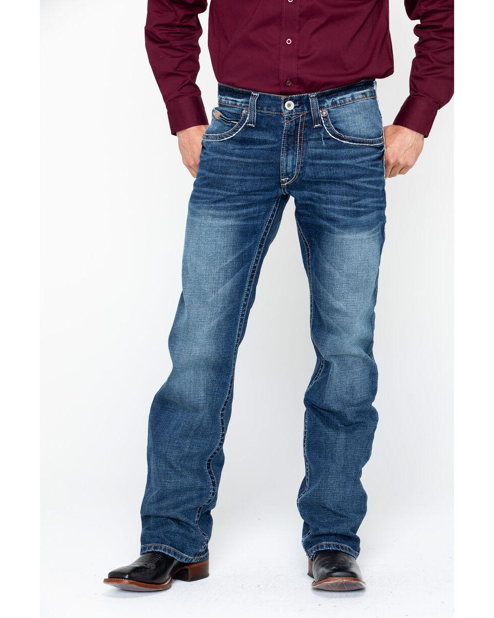 Ariat Men's M4 Preston Silverton Jeans - Big and Tall , Blue, hi-res