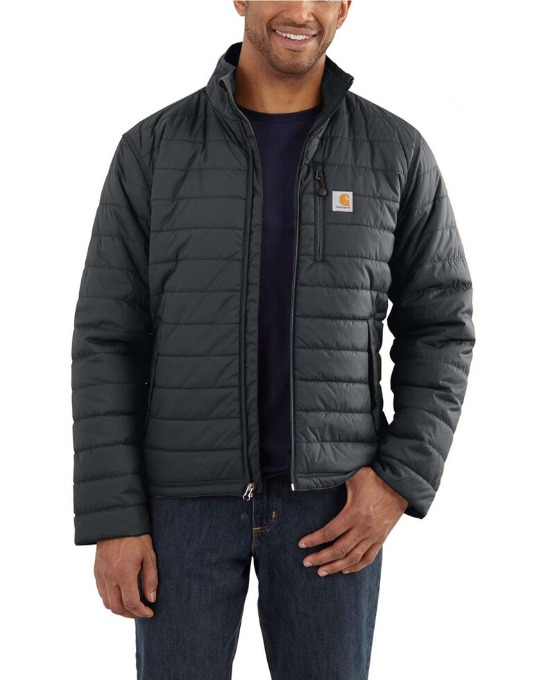 Carhartt Men's Grey Gilliam Work Jacket , Dark Grey, hi-res