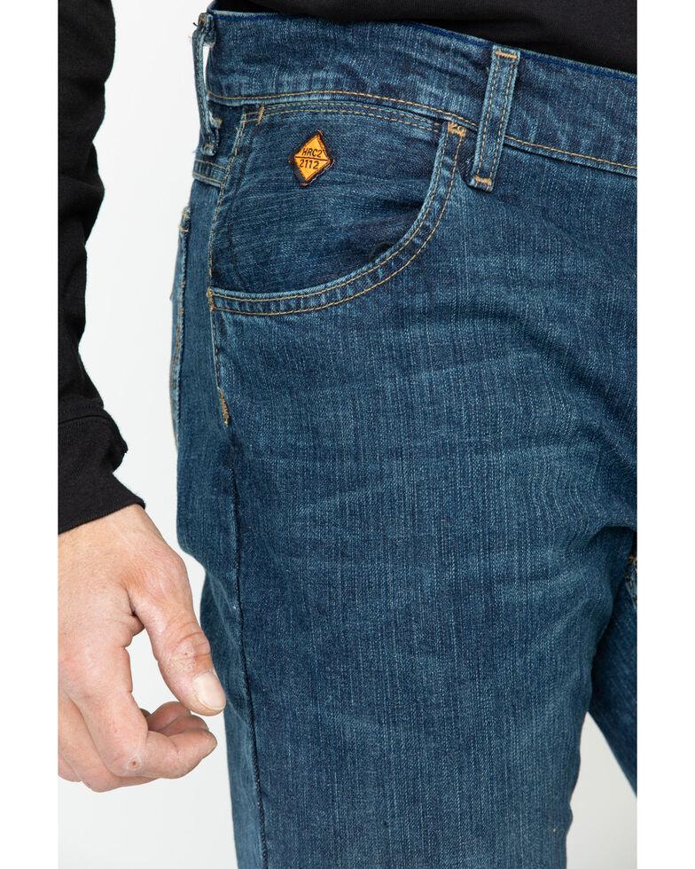 Wrangler Men's FR Advanced Comfort Slim Bootcut Work Jeans , Blue, hi-res