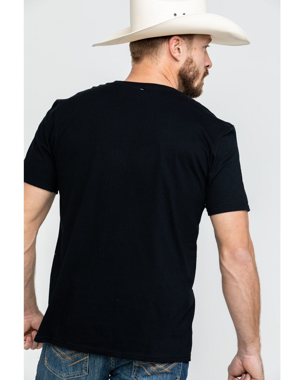 Moonshine Spirit Men's Pick & Grin Graphic T-Shirt , Black, hi-res