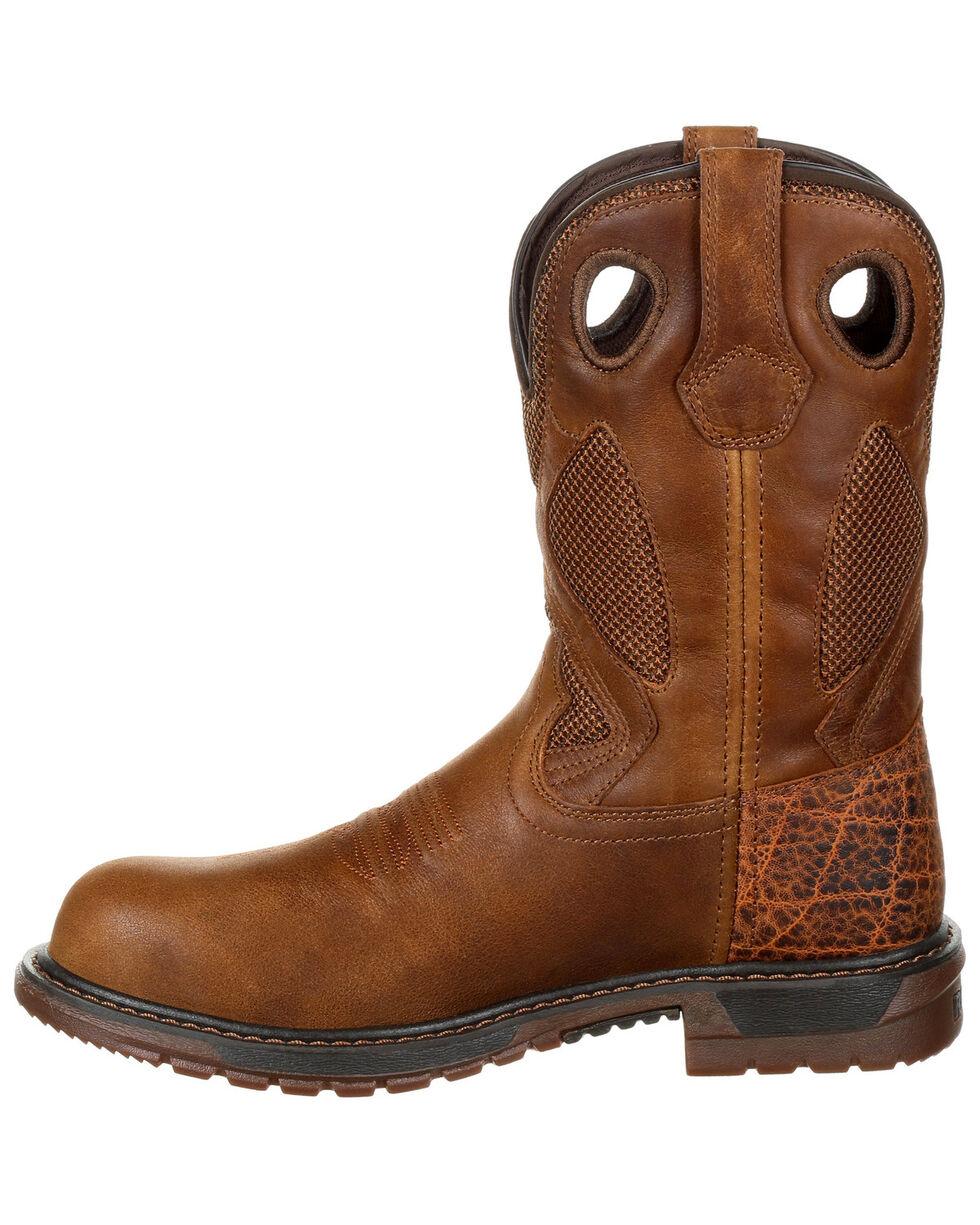 Rocky Men's Original Ride FLX Western Boots - Safety Toe, , hi-res