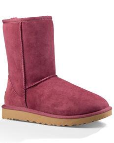 UGG Women's Classic Short II Boots, Pink, hi-res