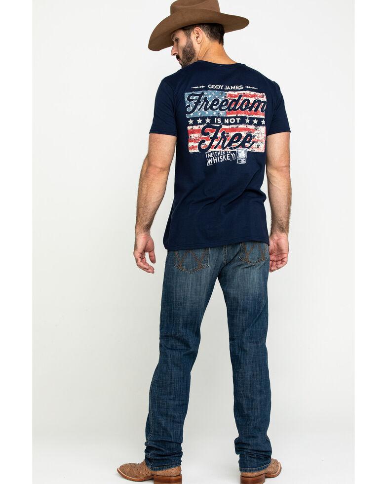 Wrangler Retro Men's Celina Stretch Slim Straight Jeans - Long , Blue, hi-res