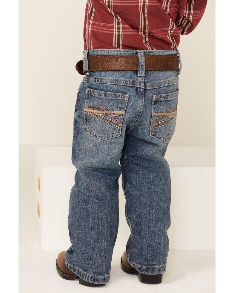 Wrangler 20X Boys' Pickett Vintage Stretch Slim Bootcut Jeans , Blue, hi-res