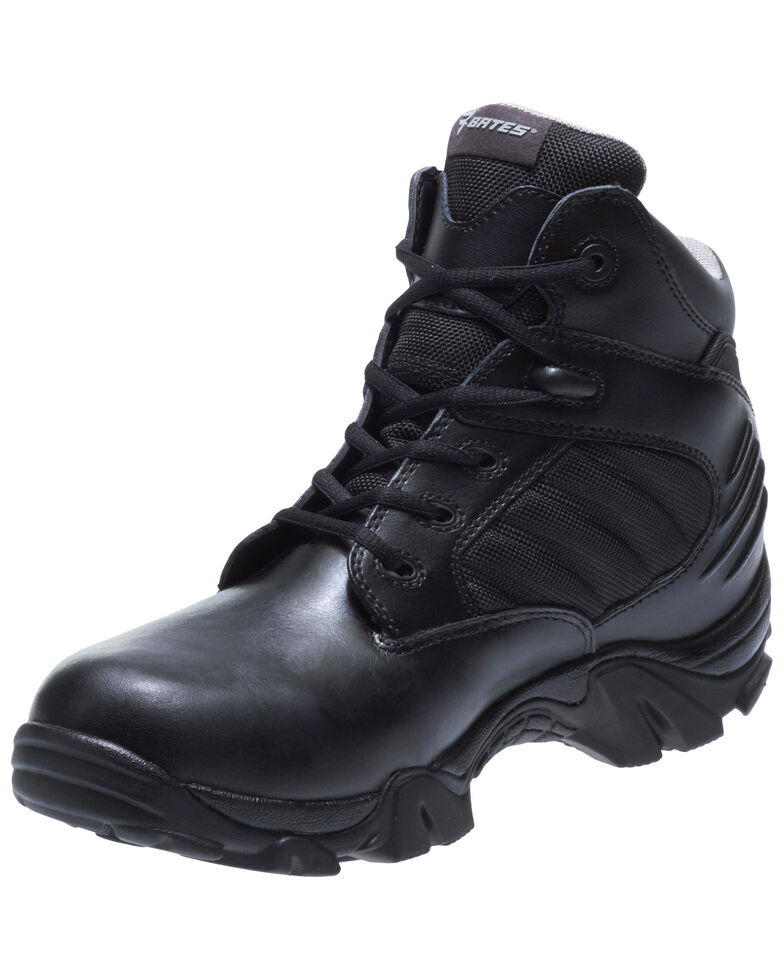 Bates Men's GX-4 Work Boots - Soft Toe, Black, hi-res