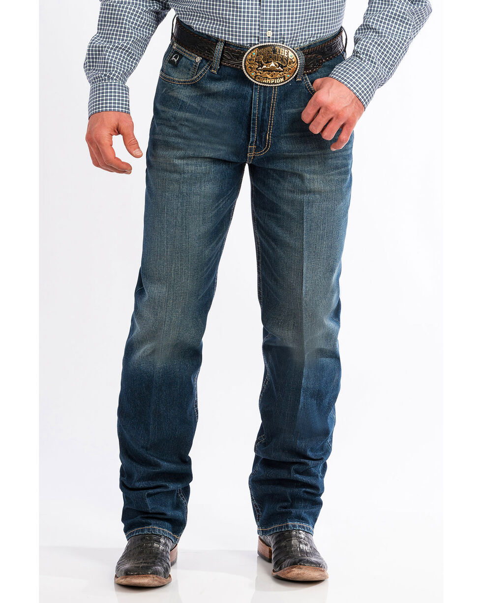 Cinch Men's Black Label 2.0 Loose Fit Jeans , Indigo, hi-res