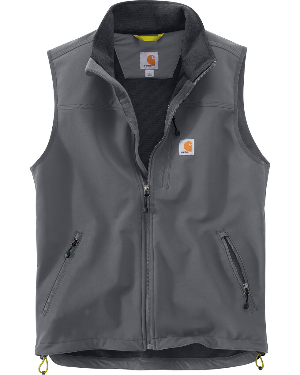 Carhartt Men's Denwood Vest - Big & Tall, Charcoal, hi-res