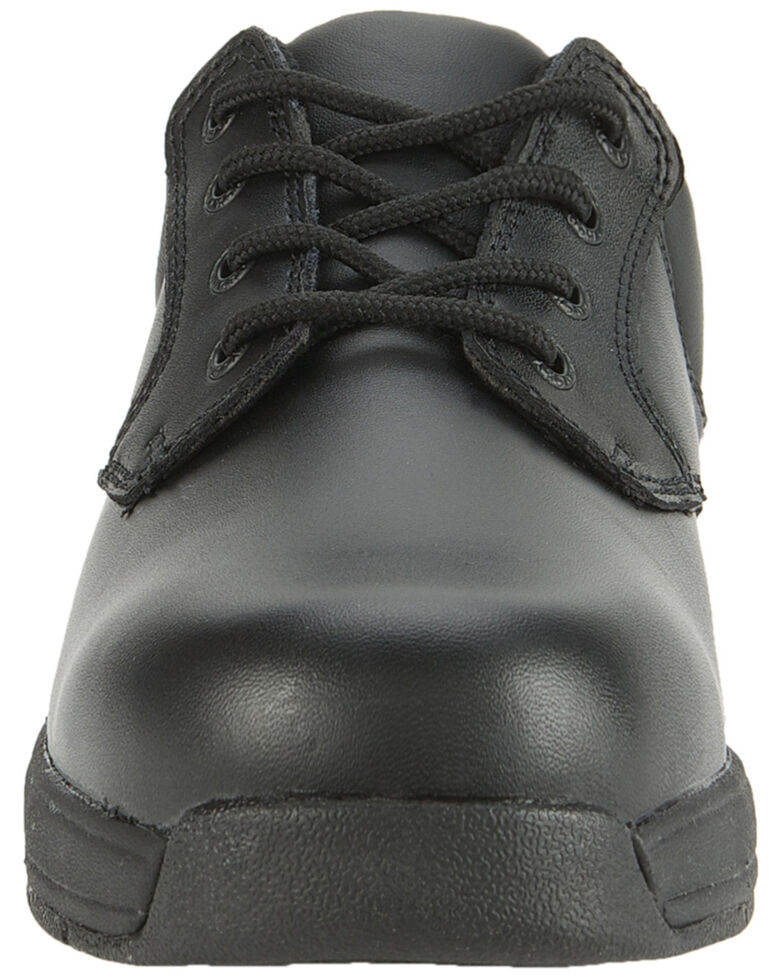 Rocky Men's Slip Stop Oxford Duty Shoes, Black, hi-res