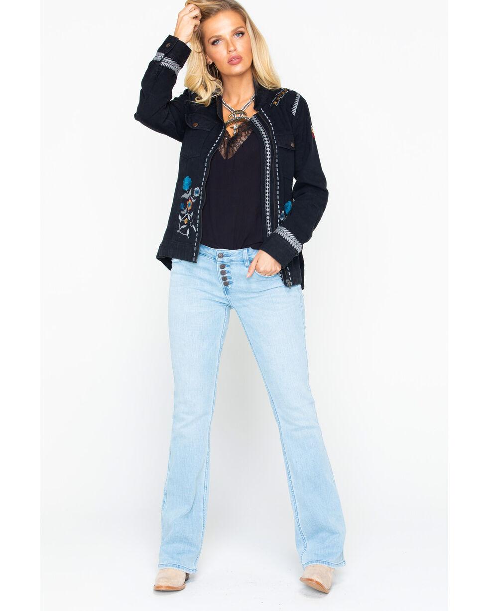 Idyllwind Women's Lindale Glam Embroidered Jacket, Black, hi-res