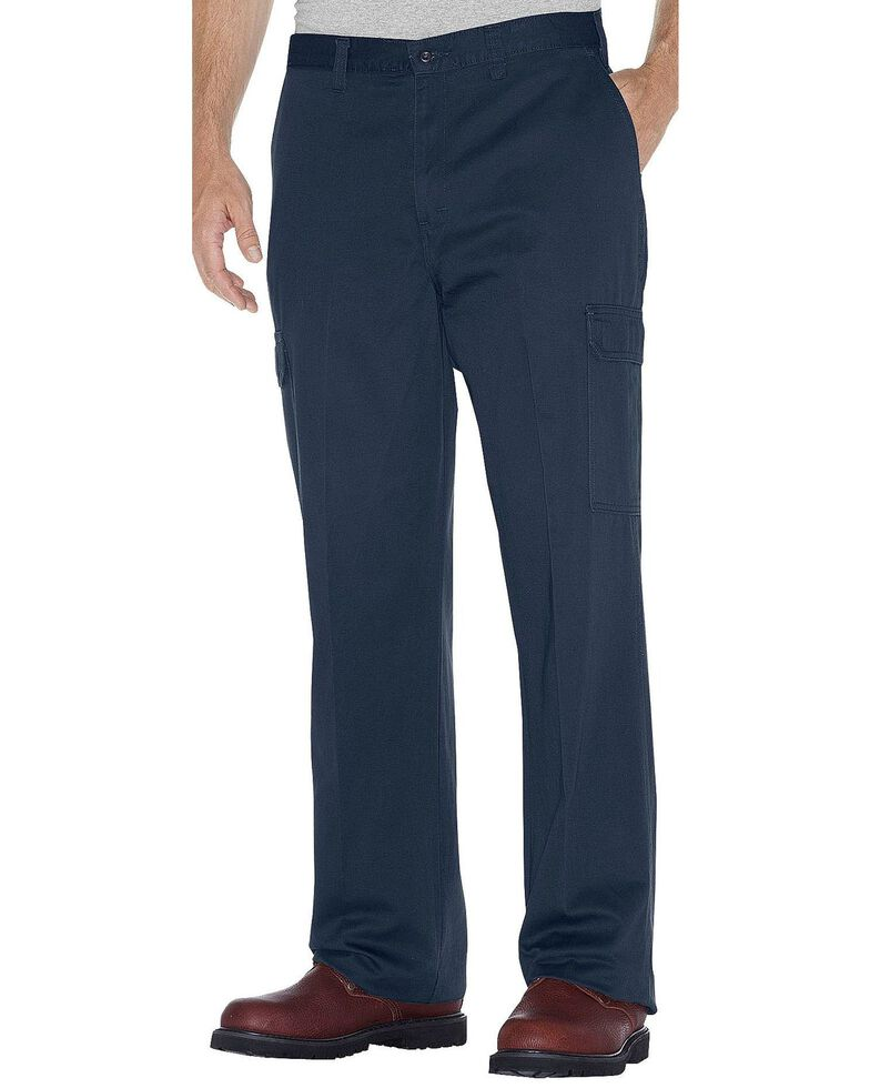 Dickies Cargo Work Pants, Navy, hi-res