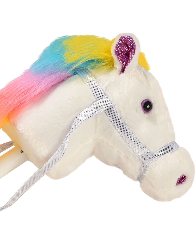 Aurora Rainbow Hair Giddy Up Stick Pony, Multi, hi-res