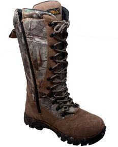 """AdTec Men's 15"""" Camo Waterproof Snake Bite Boots  , Camouflage, hi-res"""