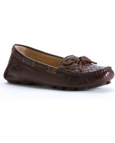 0e1623a127ea Frye Women s Reagan Woven Shoes - Round Toe