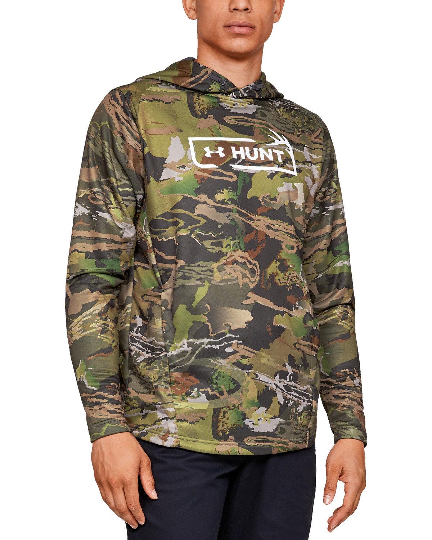brown under armour shirt