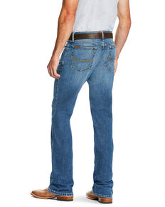 Ariat Men's M5 Stillwell Stretch Stackable Slim Straight Leg Jeans - Big , Indigo, hi-res