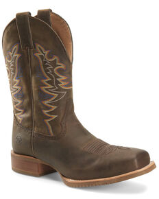 Double H Men's Orin Western Boots - Wide Square Toe, Tan, hi-res