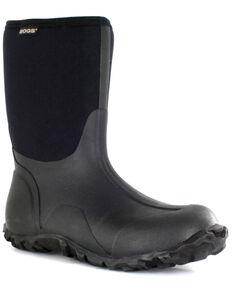 Bogs Men's Classic Mid Muck Boots, Black, hi-res