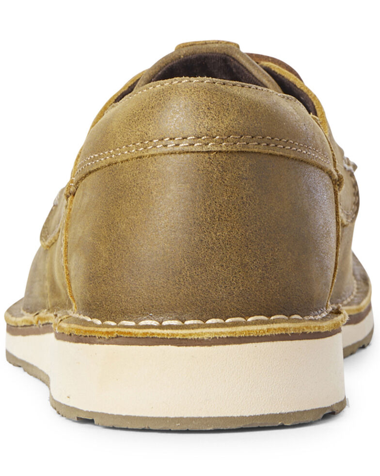 Ariat Men's Castaway Cruiser Shoes - Moc Toe, Brown, hi-res
