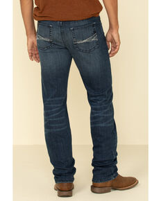 Cody James Core Men's Tophand Thermolite Performance Stretch Slim Straight Jeans , Blue, hi-res