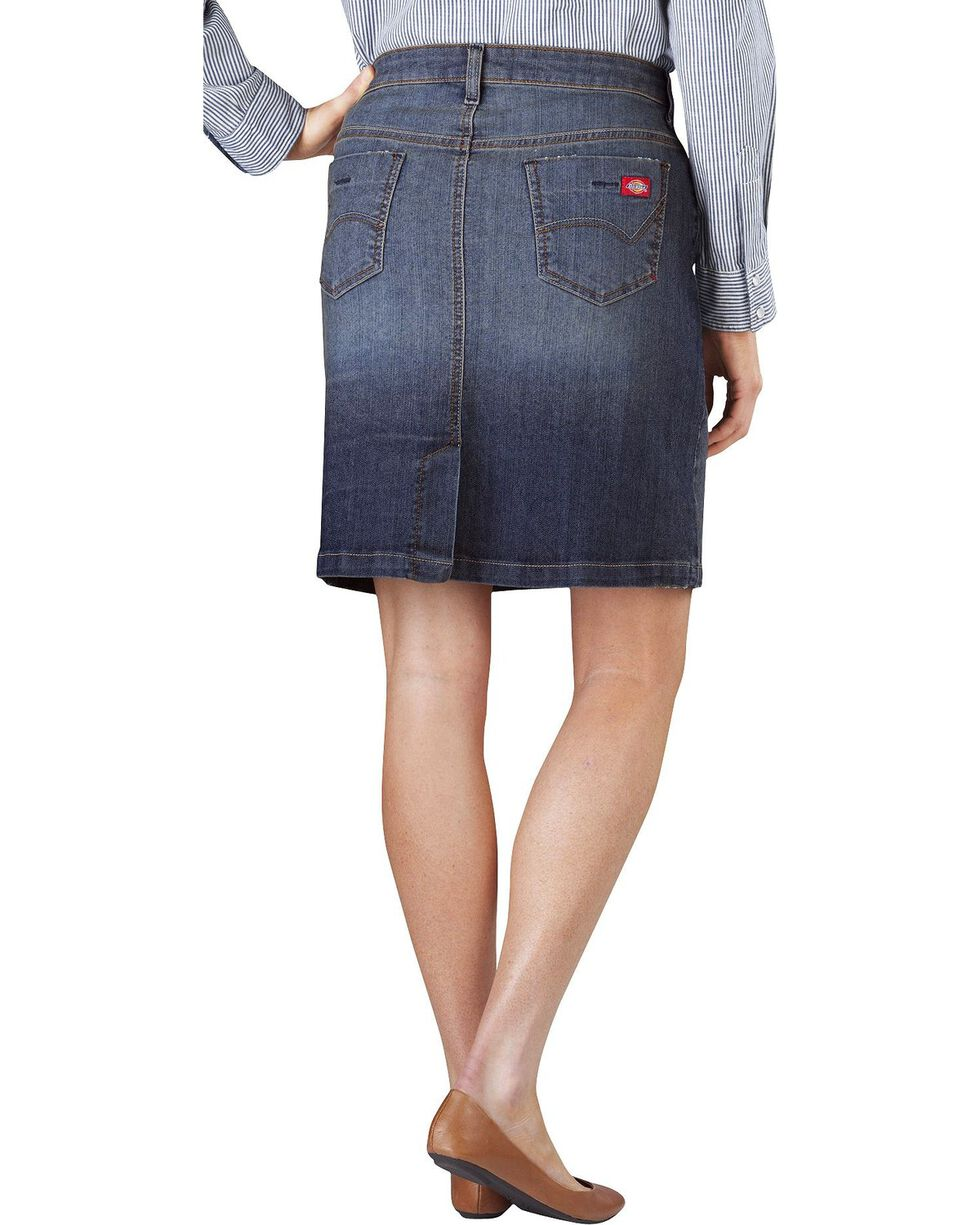 Dickies Denim Skirt, Dark Stone, hi-res