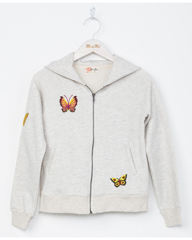 Miss Me Butterfly Sweatshirt Women/'s Hoodies