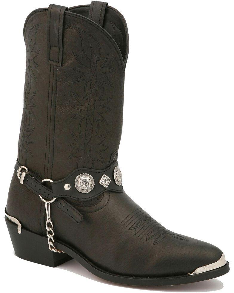 Dingo Men's Suiter Western Boots, Black, hi-res