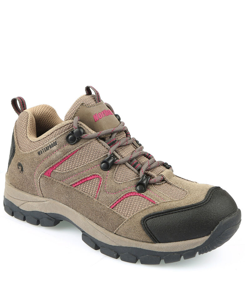 Northside Women's Snohomish Waterproof Hiking Shoes - Soft Toe, Stone, hi-res