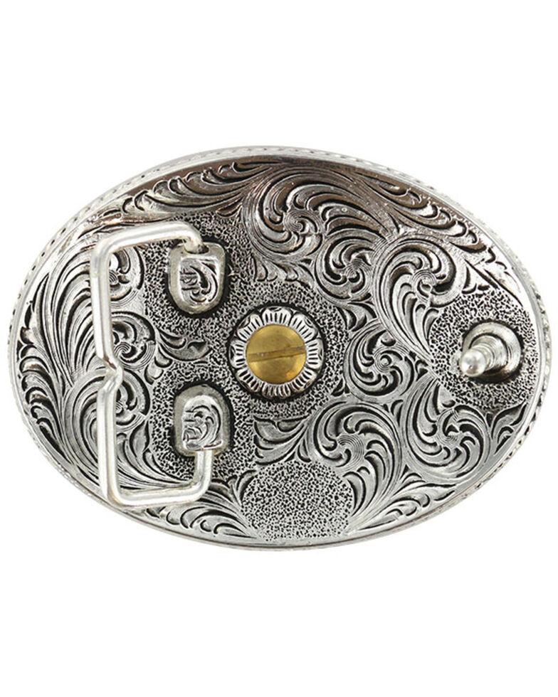 Cody James® Oval Dual-Tone Texas Buckle, Multi, hi-res