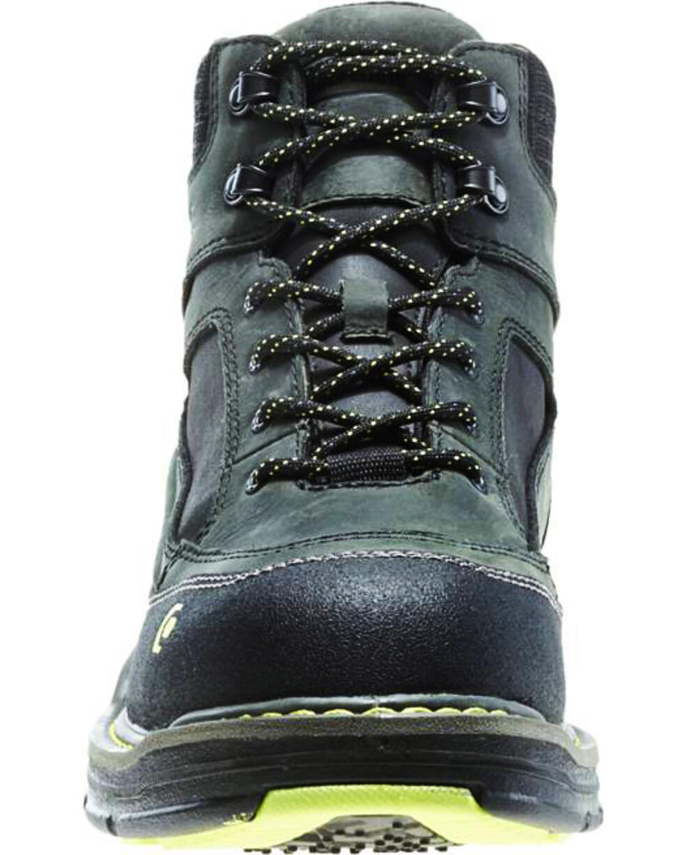 """Wolverine Men's Overman 6"""" Lace-Up WP Comp Toe Work Boots, Grey, hi-res"""