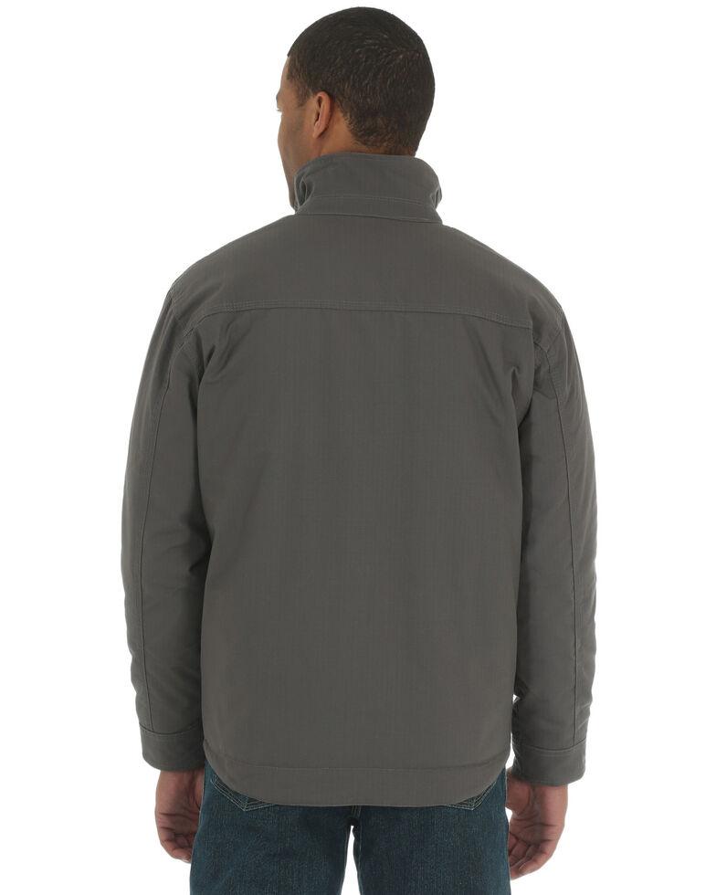 Wrangler Riggs Men's Charcoal Grey Contractor Work Jacket, Charcoal Grey, hi-res