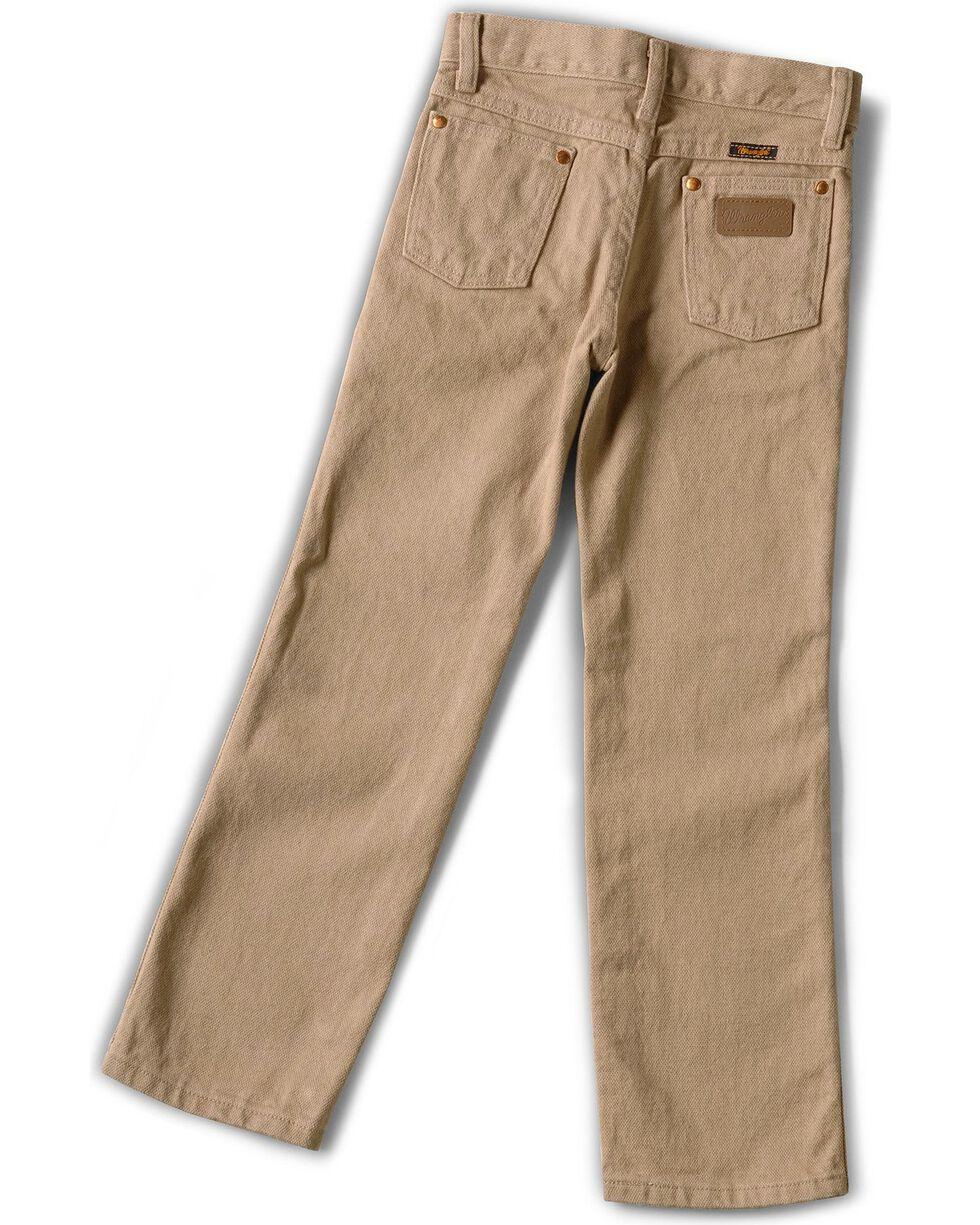 Wrangler Boys' ProRodeo Jeans Size 8-16, Tan, hi-res