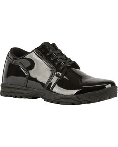 5.11 Tactical Men's Pursuit Oxford Shoes, Black, hi-res