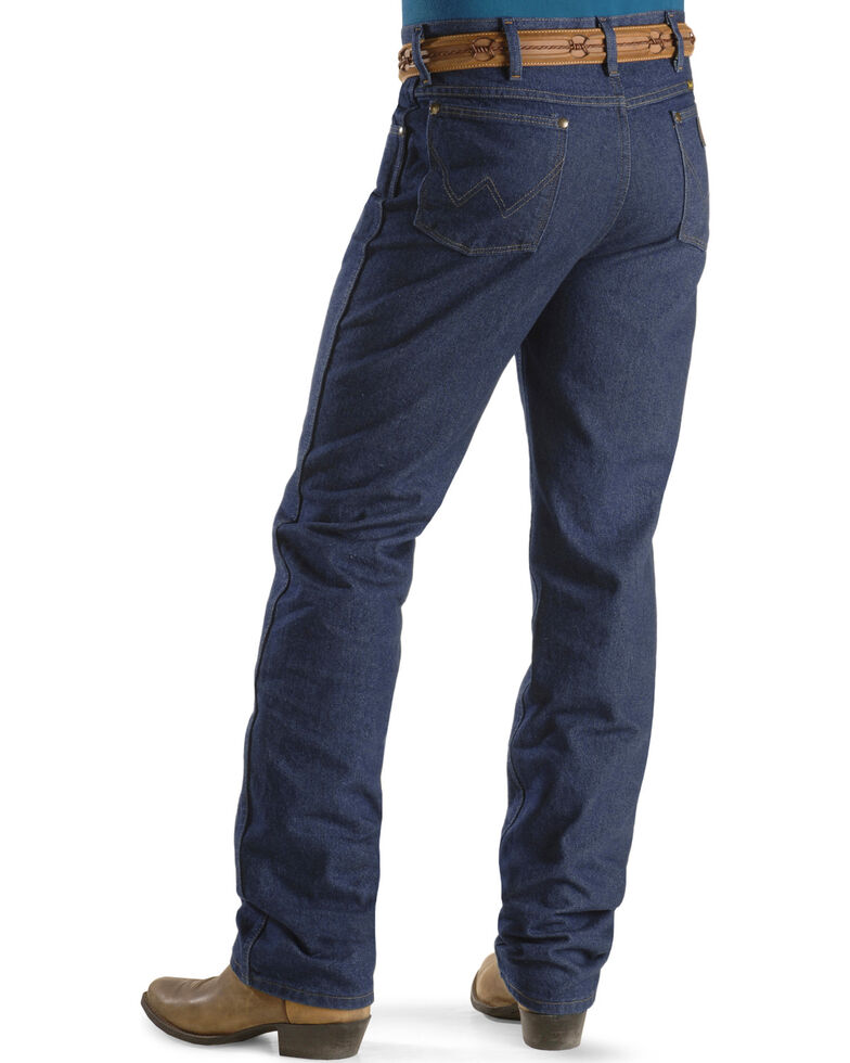 a250aa98c Zoomed Image Wrangler Jeans - Cowboy Cut 36 MWZ Slim Fit , Indigo, hi-res
