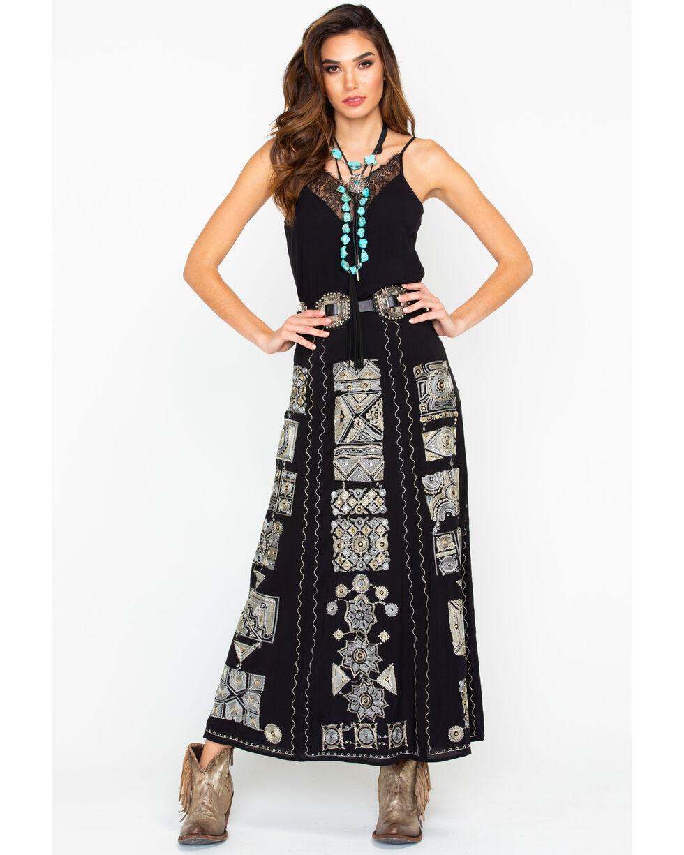 Tasha Polizzi Women's Rajah Skirt, Black, hi-res