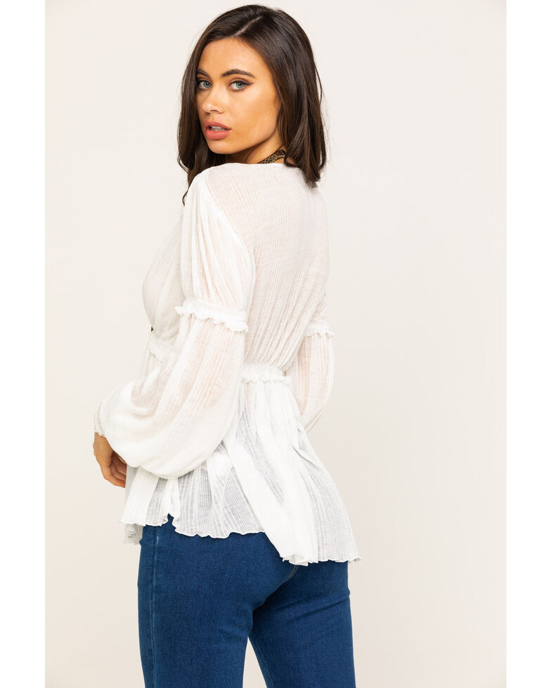 Free People Women's Day Dreaming Top, Ivory, hi-res